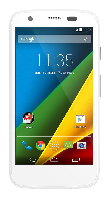 Smartphone Motorola Moto G 4G - Blanc