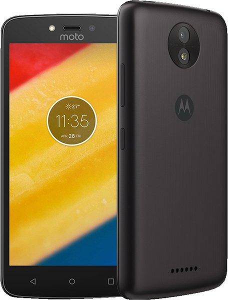 """Smartphone 5"""" Motorola Moto C Plus noir 16 Go, RAM 1 Go, 4000 mAh (via ODR de 30€)"""