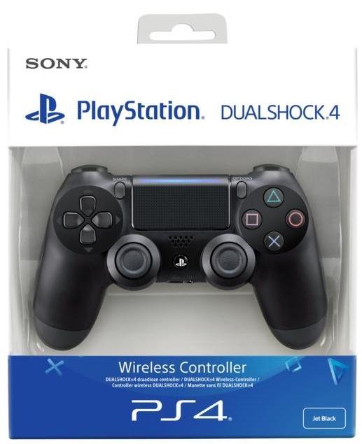 Manette PS4 Sony DualShock 4 - Noir, Blanc ou Rouge
