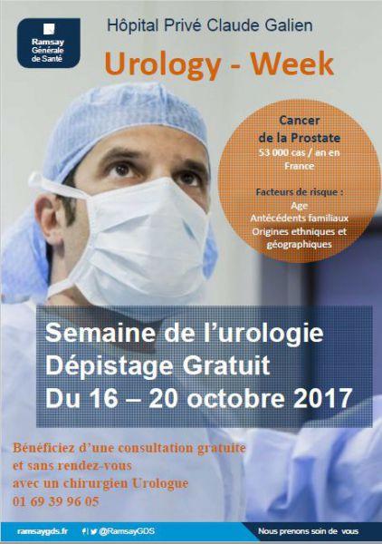 Dépistage gratuit des cancers urologiques (Quincy-sous-Sénart - 91)
