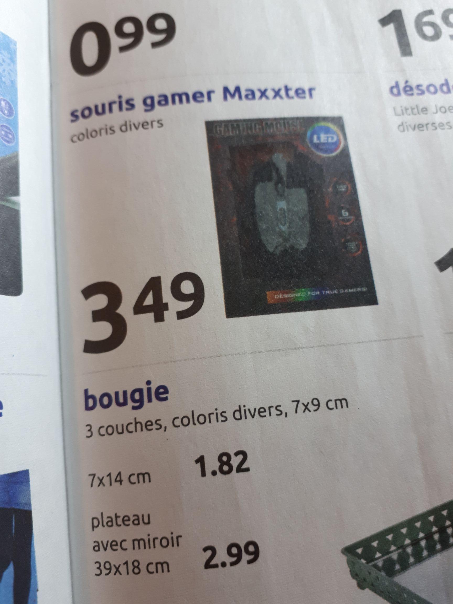 Souris gamer Maxxter