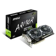 Carte Graphique MSI GeForce GTX 1080 Ti ARMOR - 11 Go DDR5X + Destiny 2 Offert