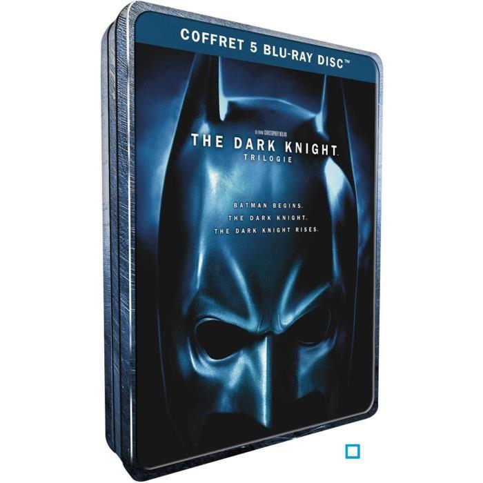 Coffret Blu-ray Trilogie Batman Dark Knight