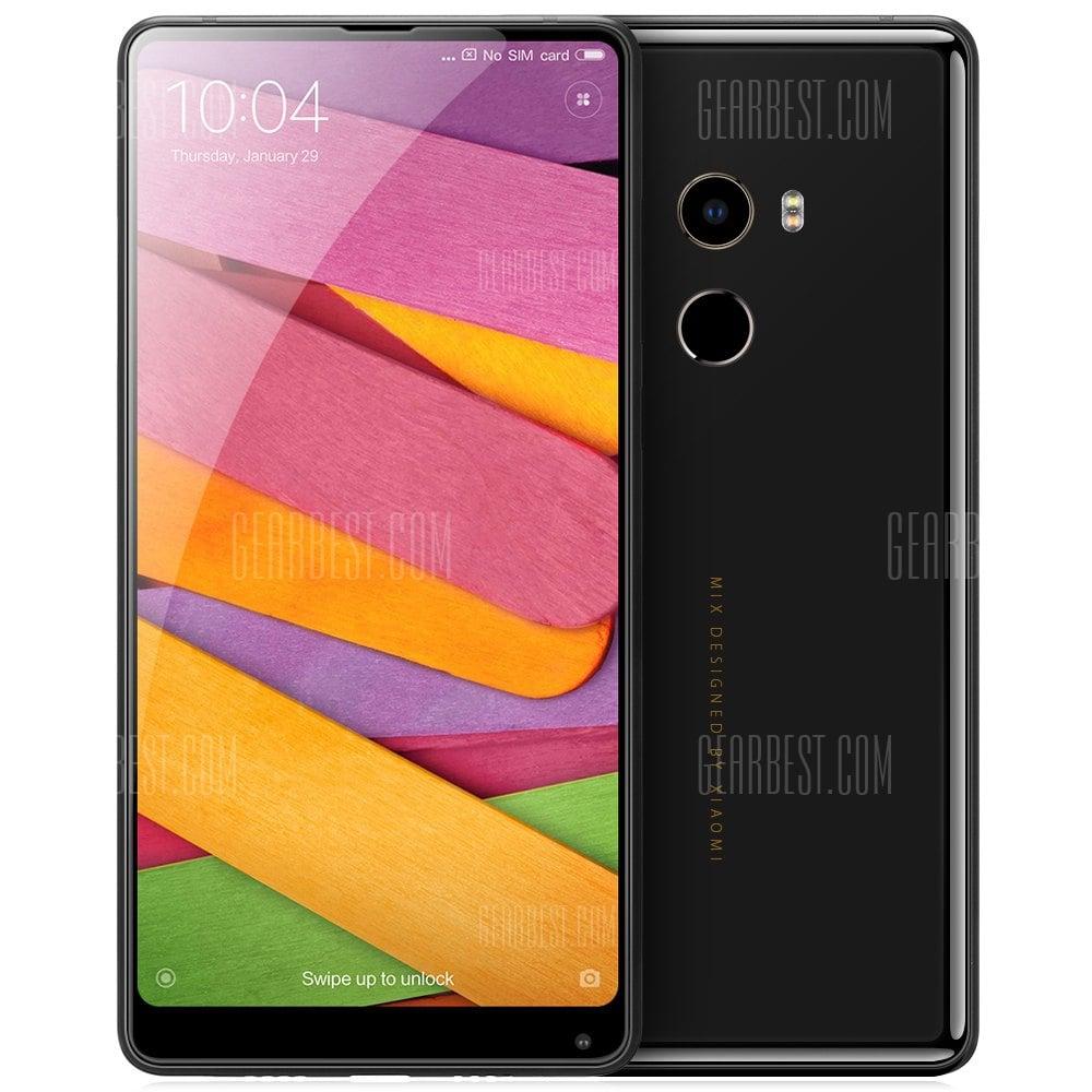 "Smartphone 5.9"" Xiaomi Mi Mix 2 - Full HD, Snapdragon 835, 6 Go RAM, 64 Go (Avec B20 et B28), Noir"