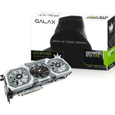 Carte graphique Galax GTX970 HOF -  4Go avec Jeu The Witcher 3 : Wild Hunt offert