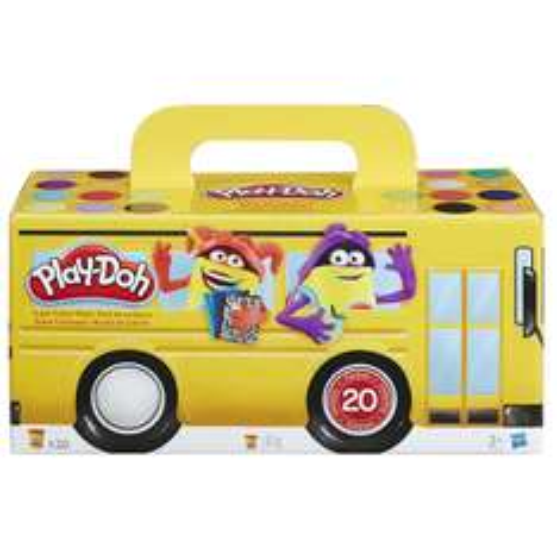 Lot de 20 pâtes à modeler de couleur Hasbro Play-Doh A7924EU6