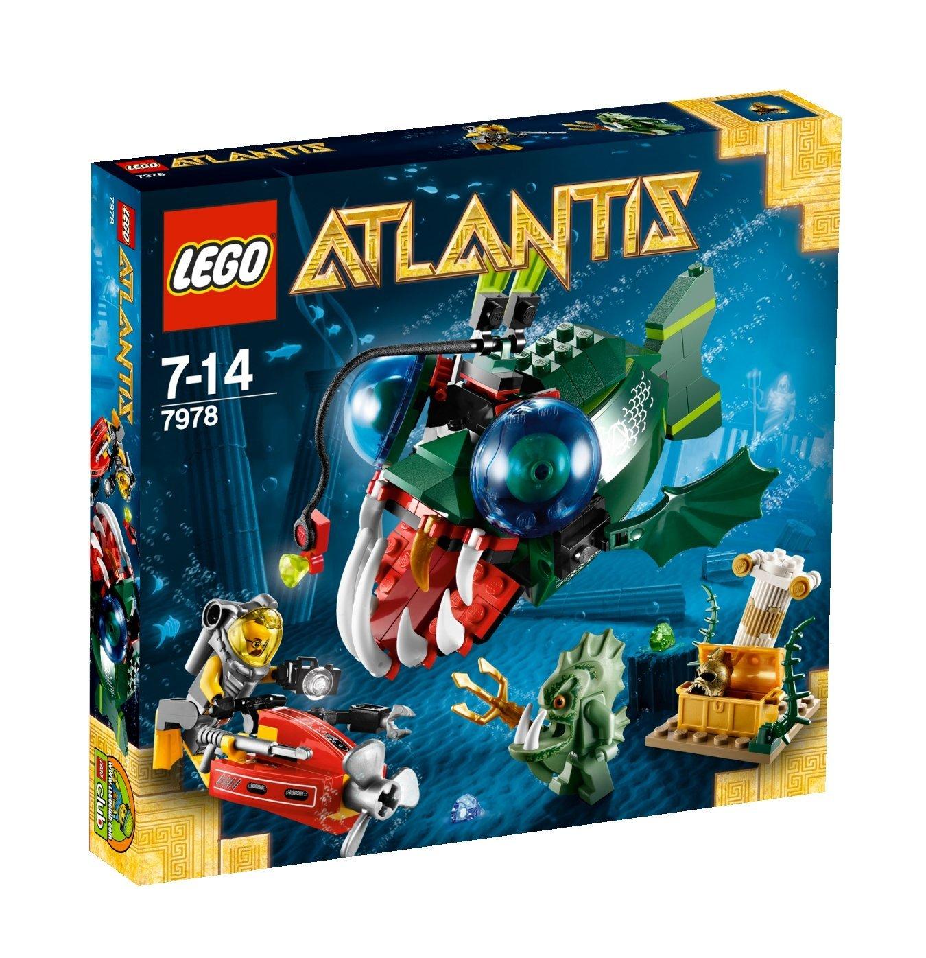 Jouet Lego Atlantis La créature maléfique - 7978