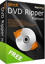 Logiciel WinX DVD Ripper Platinum Gratuit (Dématérialisé)