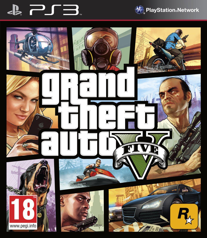 Jeu PS3 (dématérialisé) Grand Theft Auto 5  (GTA V)