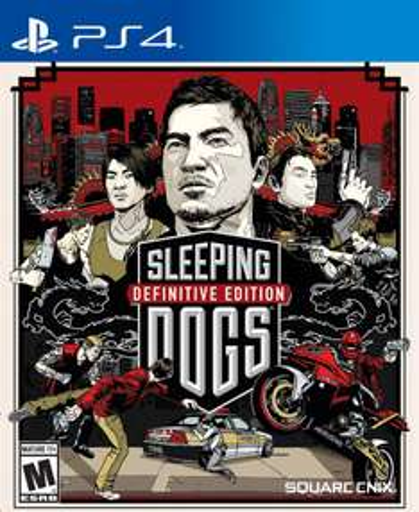 Jeu PS4 (dématérialisé) Sleeping Dogs Definitive Edition