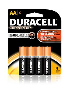 Piles Duracell Plus Power gratuites (avec ODR 50% + 50% sur la carte Auchan)