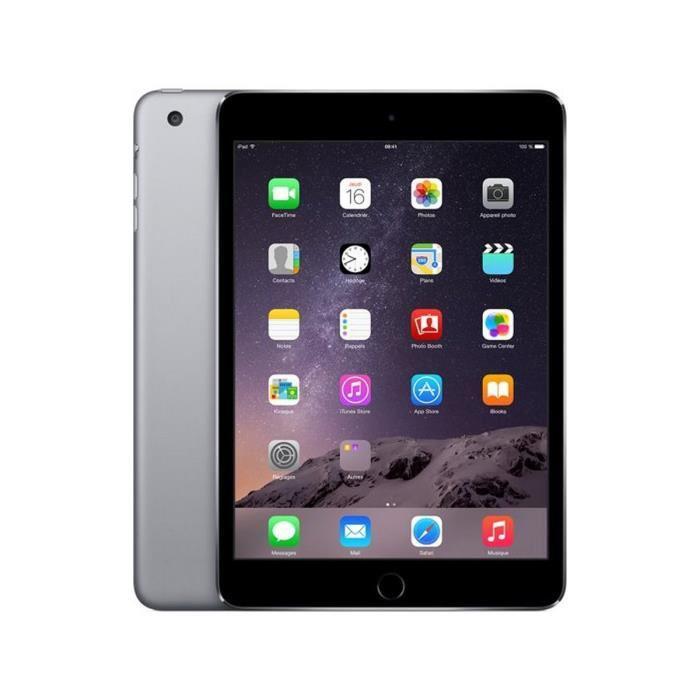 Tablette Apple iPad Mini 3 Wifi 16 Go Gris Sidéral