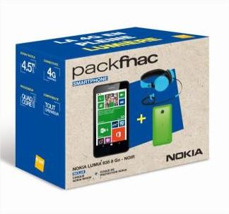 [Adhérents] Smartphone Nokia Lumia 635 + Casque Nokia WH530 + Coque de protection + 15€ en chèque cadeau (via ODR 30€)