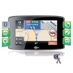 GPS automobile Mappy ITI S439 - Carte à vie - Trafic & Bluetooth