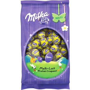 Chocolats de pâques : 3 achetés = le moins cher remboursé sur carte fidélité (cumulable avec les promos en cours) - Ex : 3 paquets de petits oeufs Milka de 500gr chacun