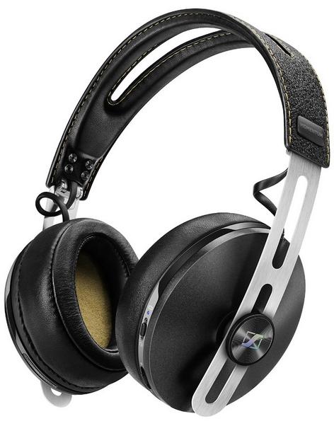Casque avec kit main-libres Sennheiser Momentum Over-Ear Wireless bluetooth noir