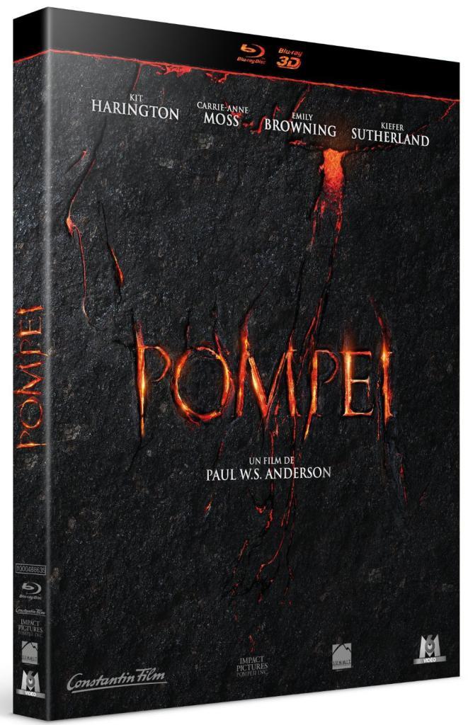 Film Pompei - Blu ray 3D + Blu Ray 2D