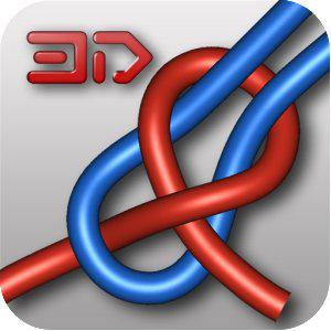 Application Knots 3D (pour apprendre à faire des noeuds) gratuite sur Android (au lieu de 1€)