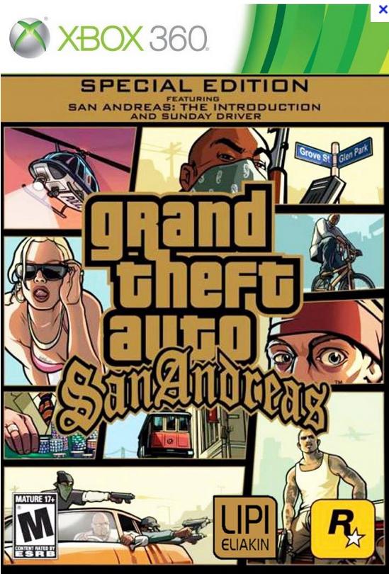 [Abonnés Gold et Silver] Jeu Xbox 360 (Dématérialisé) GTA San Andreas