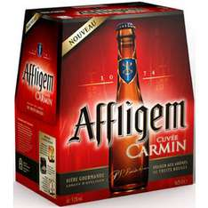 2 packs de bière Affligem cuvée Carmin