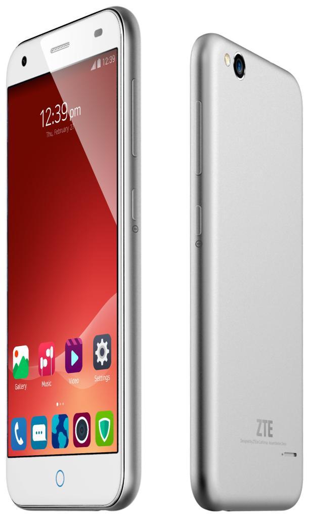 "Smartphone 5""  ZTE Blade S6 (Lolipop 5.0, octacore Snapdragon 615, 2Go, 4G)"