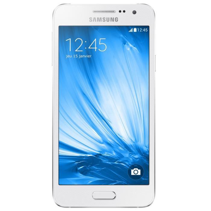 "Smartphone 4.5"" Samsung Galaxy A3 16Go"