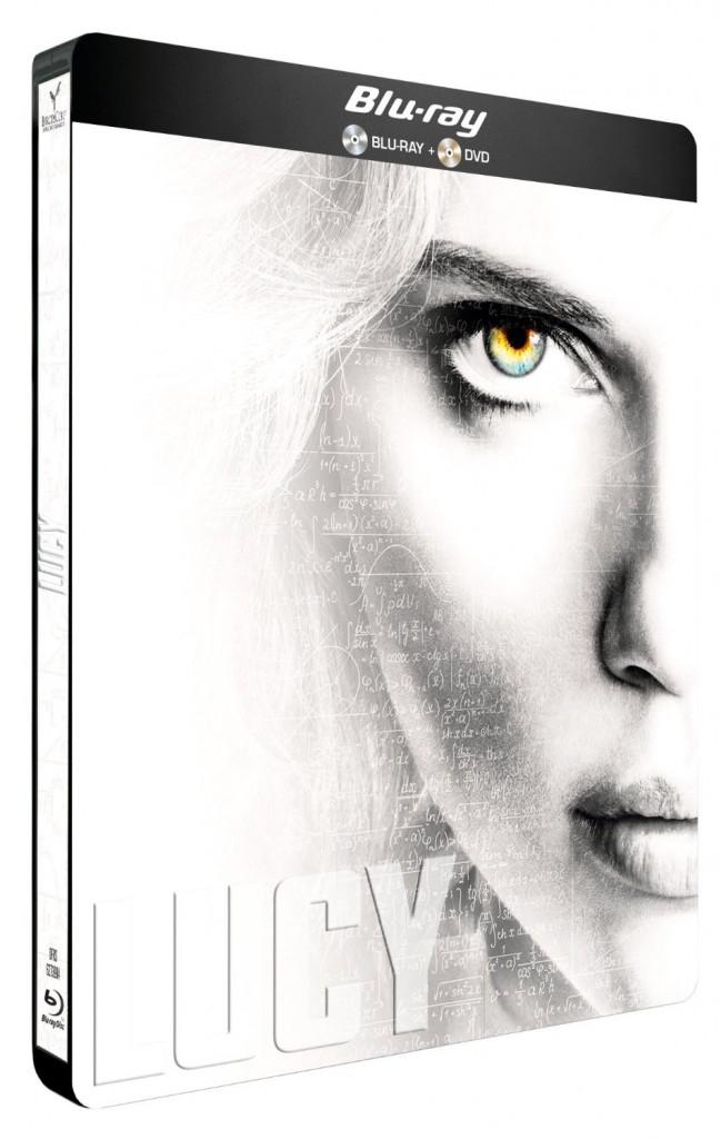 Coffret DVD/Blu-Ray Steelbook Lucy