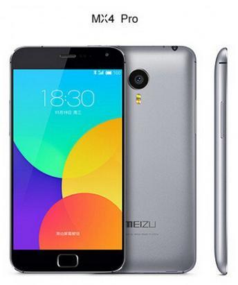 """Smartphone 5.5"""" Meizu MX4 Pro 16 Go"""