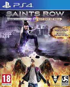 Saints Row IV : Gat out of Hell + Edition re-elected - Edition première sur PS4