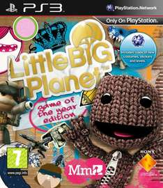 Jeu Little Big Planet GOTY Edition sur PS3