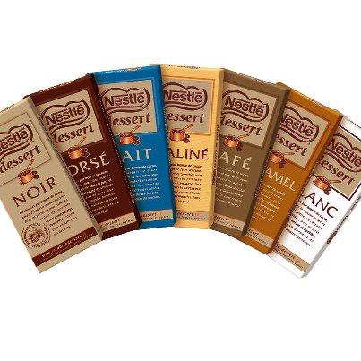 Lot de 3 tablettes de Chocolat Nestlé (avec bon de réduction)