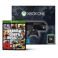 Pack Console Xbox One Halo - The Master Chief Collection + Jeu Grand Theft Auto V