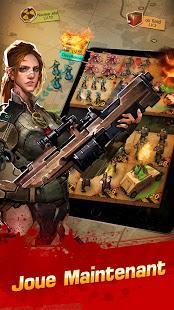 """Pack bonus offert pour le jeu Android """"Deadwalk: The Last War"""""""
