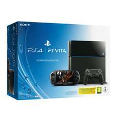 Pack Console PS4 500 Go Noire + Console PS Vita + 1 jeu PS4 offert (Bloodborne, The Order...)