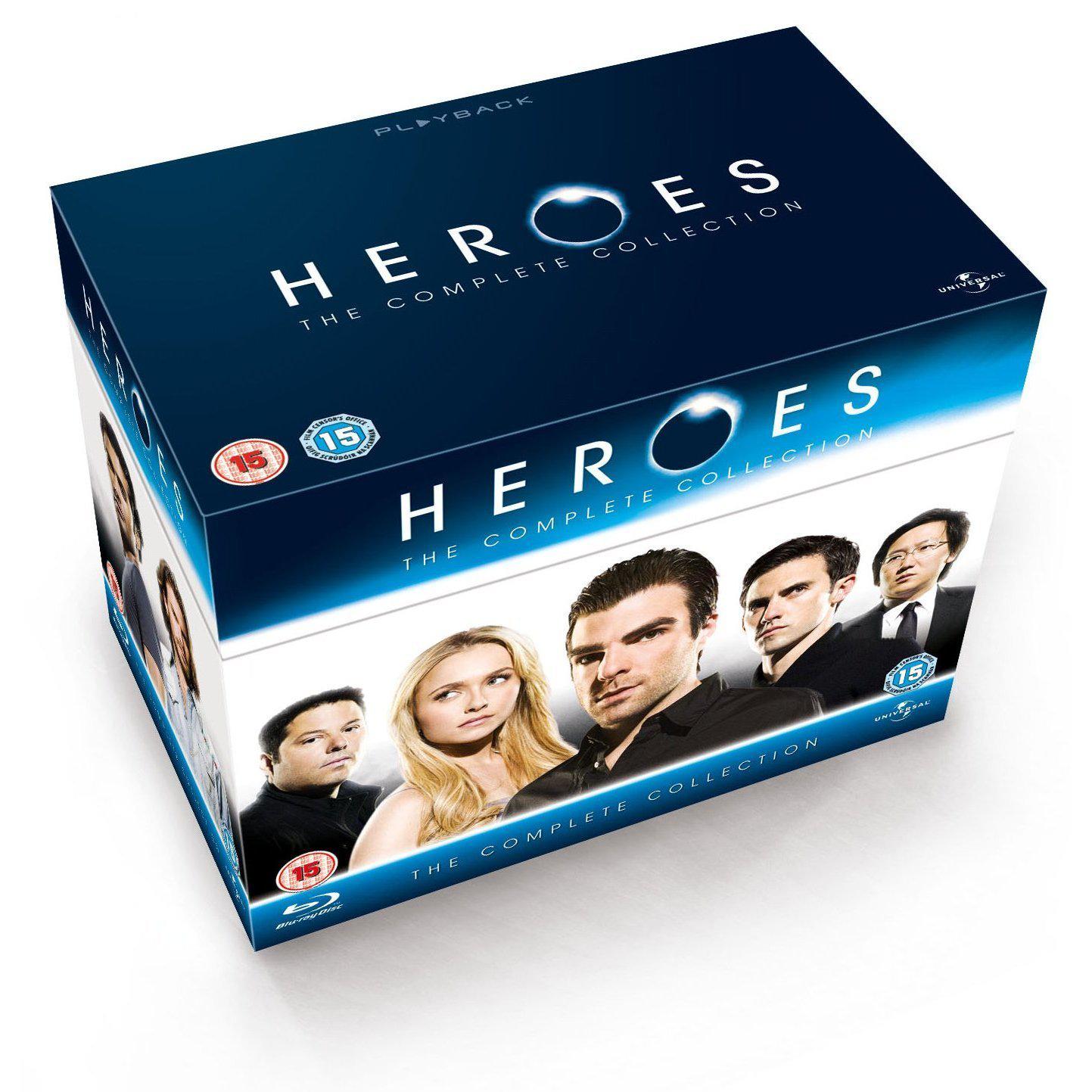Coffret Blu-ray Heroes Saison 1 à 4