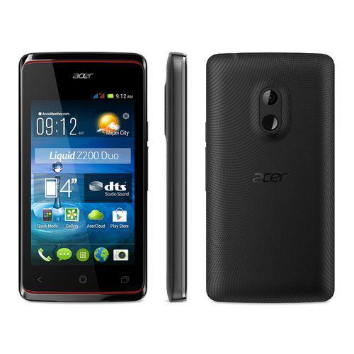 """Smartphone 4"""" Acer Liquid Z200 Duo noir"""