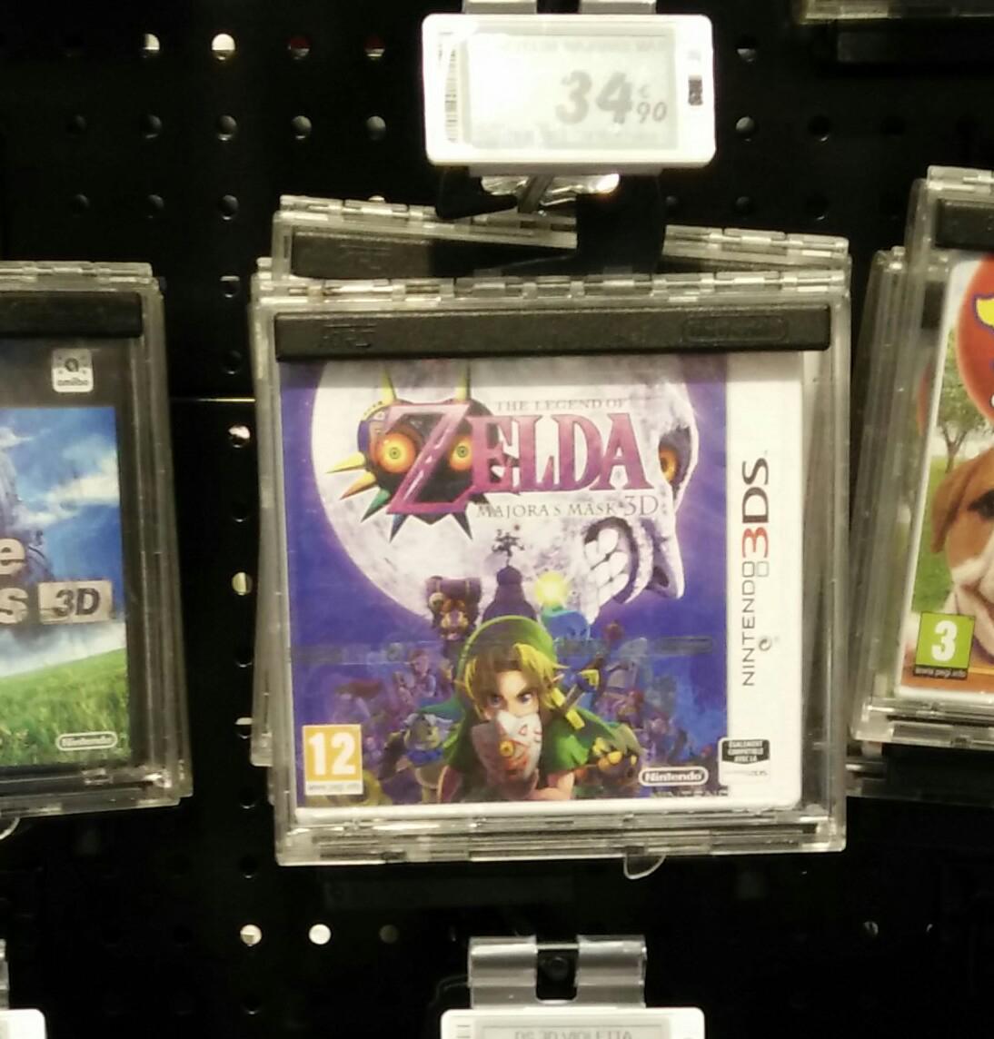 The Legend Of Zelda : Majora's Mask sur Nintendo 3DS