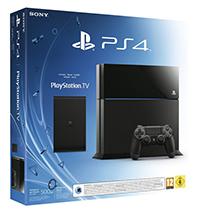 Pack Sony PS4 500 Go Noire + Playstation TV + Un jeu au choix