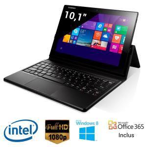 """Tablette 10"""" Lenovo Miix 3 Full HD - 32 Go - 2 Go RAM - Windows 8.1 + Clavier (avec ODR 50€)"""
