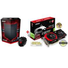 Carte graphique MSI GeForce GTX 970 GAMING  4 Go + Souris MSI Interceptor DS200 + Jeu The Witcher 3