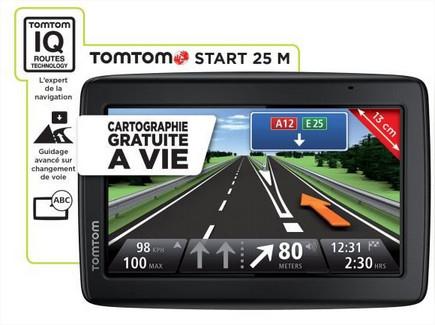 GPS TomTom Start 25 M Europe 23 (Cartographie à vie)