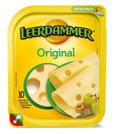 Fromage Leerdammer 10 tranches (avec 0.60€ sur la carte)