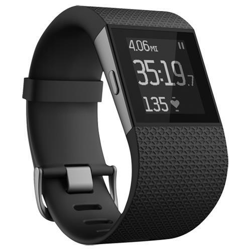 Bracelet connecté Fitbit Surge Cardio & GPS (Taille L)