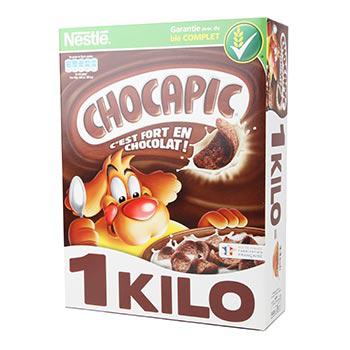 Céréales Chocapic 1 kg (50% sur la carte  + BDR)