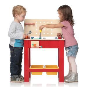 Etabli en bois  Kidkraft + accessoires pour enfants
