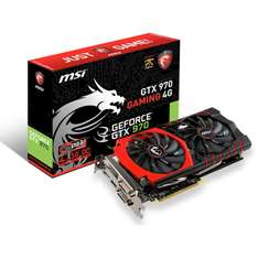 Carte graphique GTX 970 MSI gaming 4 go + the witcher 3
