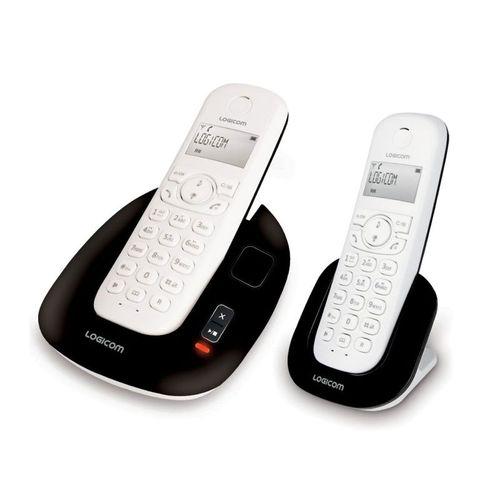 Téléphone fixe Logicom duo Manta 255 sans fil avec répondeur