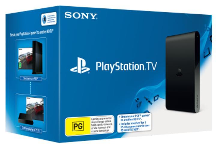 Sony PlayStation TV + 3 Jeux