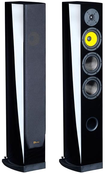 Paire d'enceintes colonne Davis Matisse HD Noire laqué + Préampli HiFi Project Phono Box MM DC