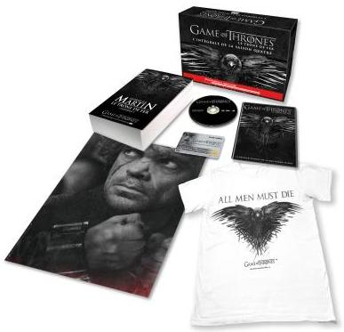 Coffret de pré-réservation Saison 4 de Game Of Thrones + Carte cadeau de 39.99€